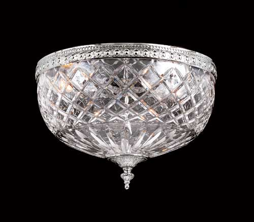 Bohemian Crystal Ceiling Mount 117-12-CH