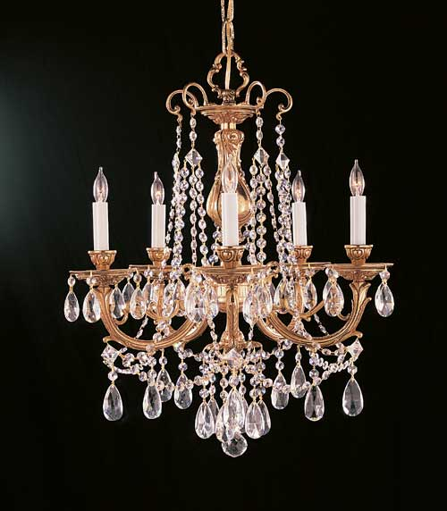 Crystorama Olde World Chandelier 475-OB-CL-I