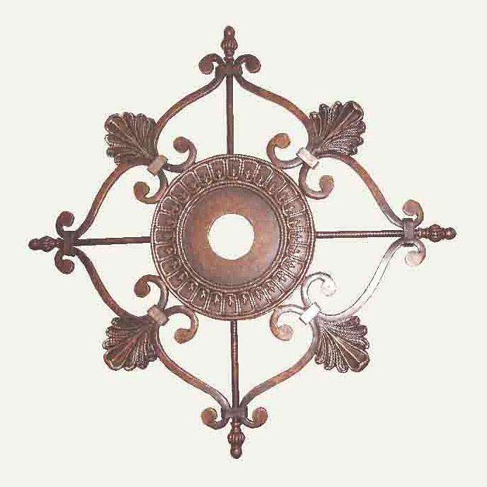 Espresso Ceiling Medallion by Crystorama