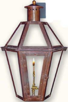 Savannah Bronze Gas Lantern SGL23BRZ